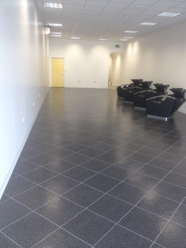 Salon Tile Floor