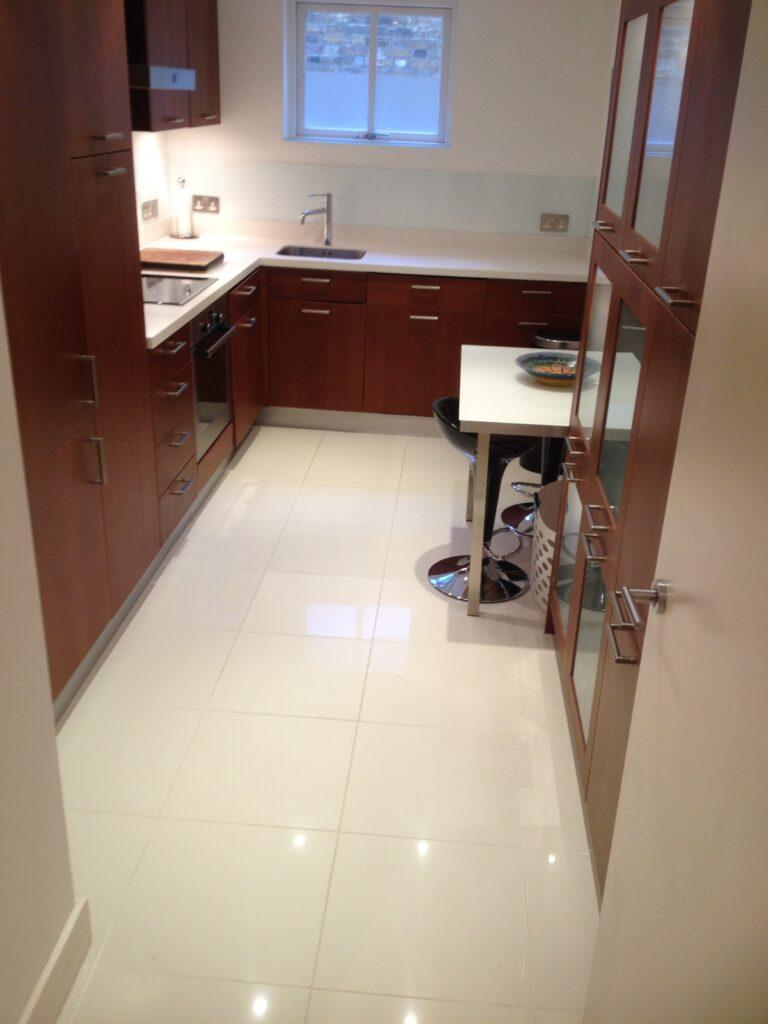 Kitchen White Floor