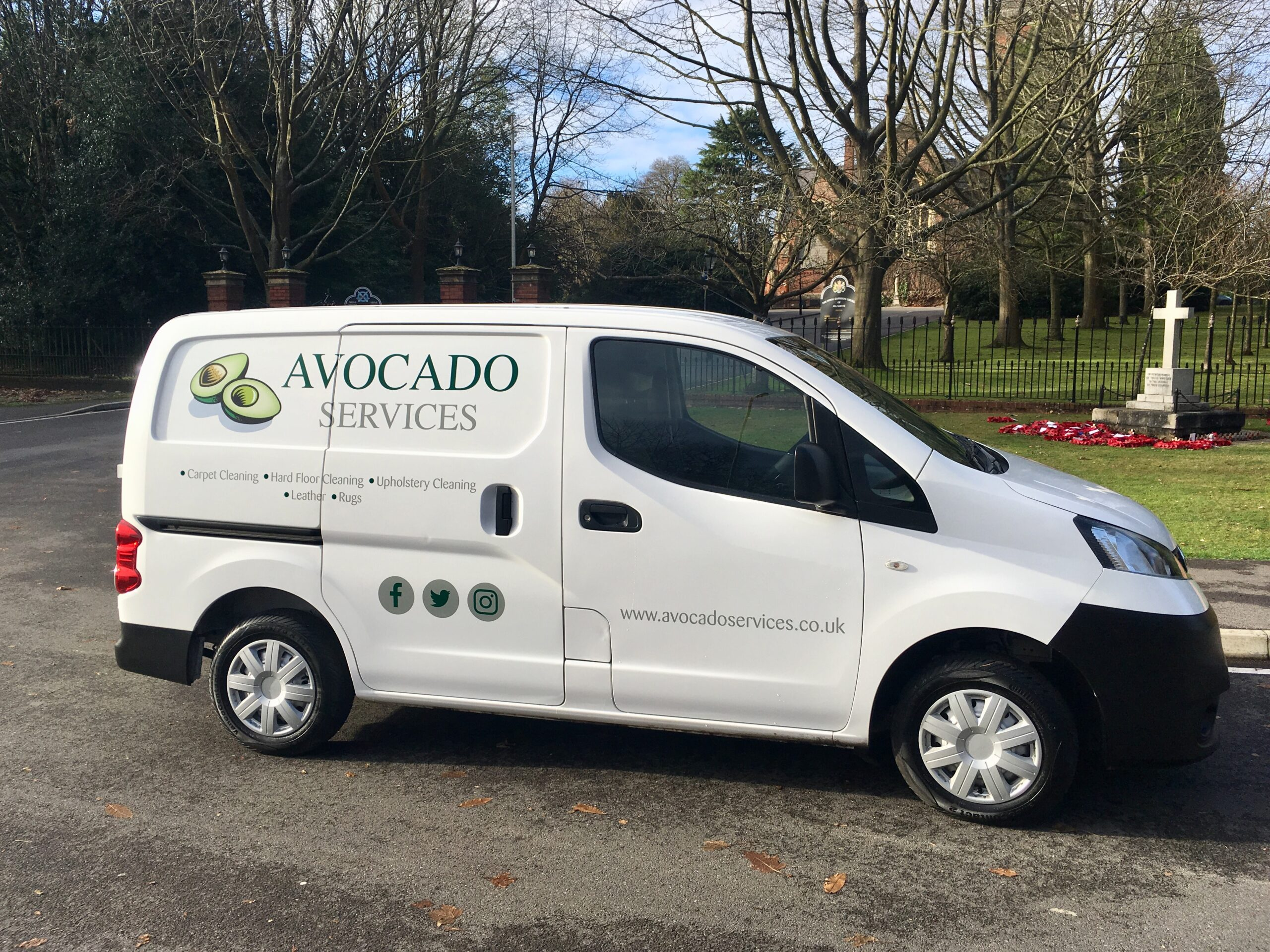 Avocado Services Van