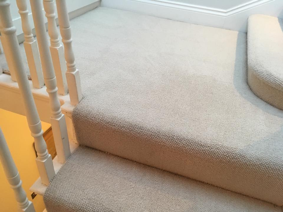 Staircase Stain After