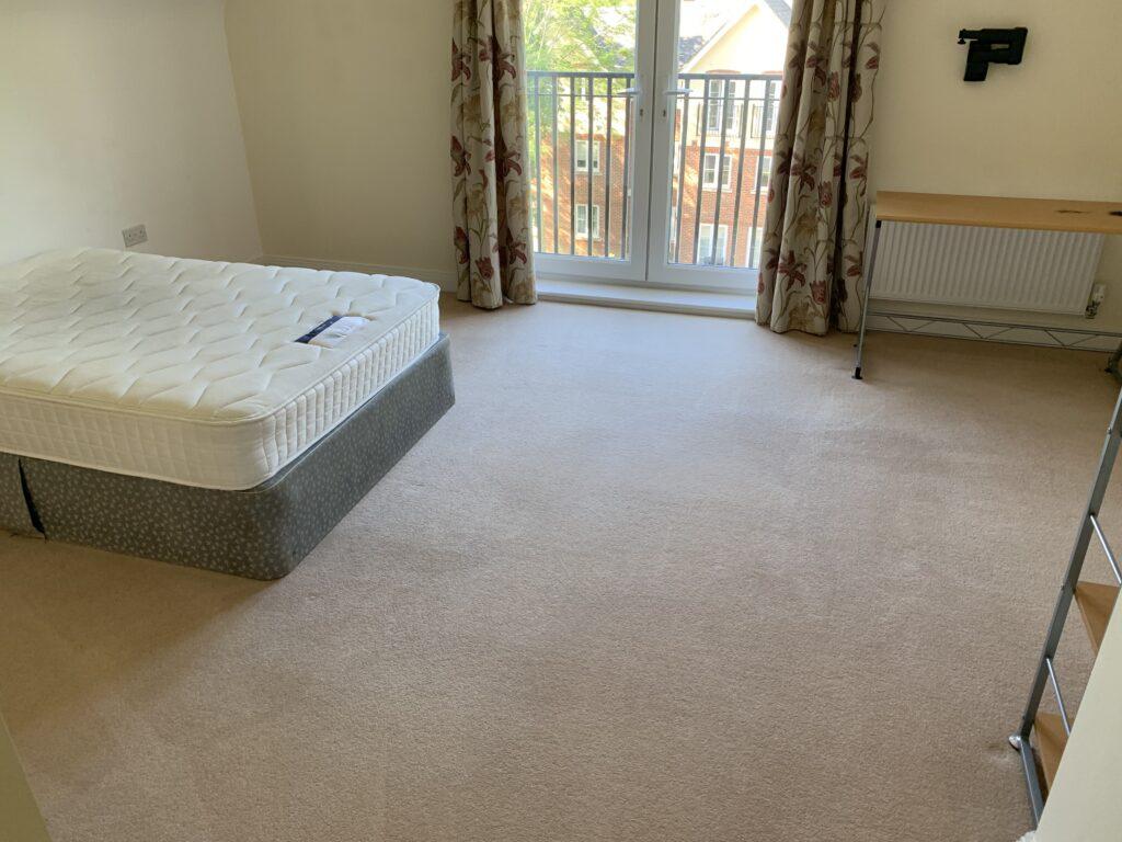 Carpet Clean Bedroom