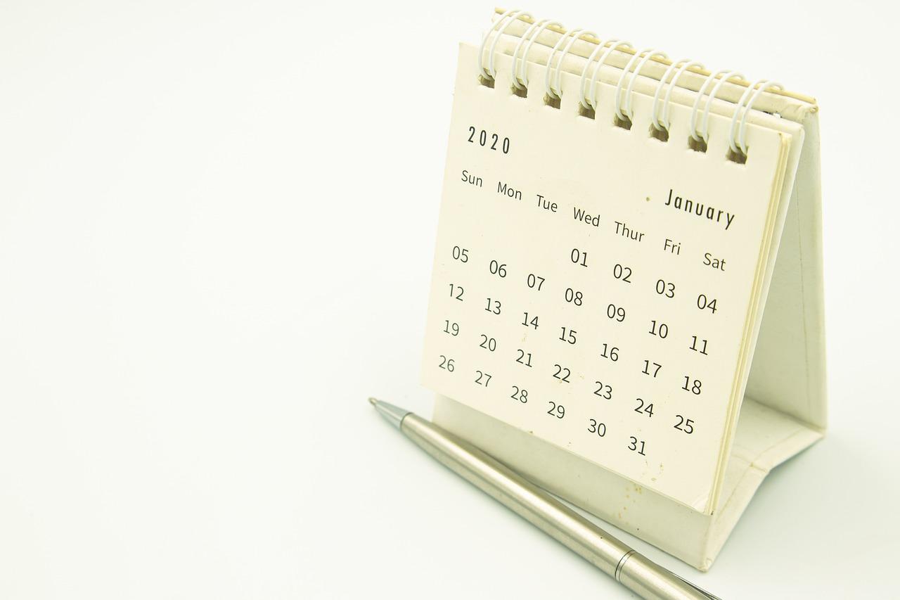 calendar, clip, date